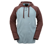 3 Button Henley - Schneebekleidung für Herren - Blau