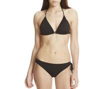 Triangle - Bikini Set für Damen - Schwarz