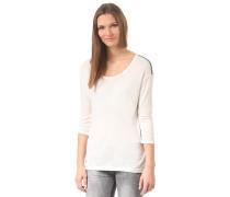45q574 - Langarmshirt für Damen - Weiß