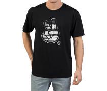 Peeace T-Shirt - Schwarz