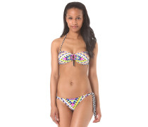 Cancun Bandeau - Bikini Set für Damen - Mehrfarbig
