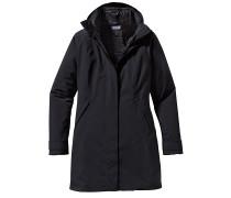 Vosque 3-in-1 - Mantel für Damen - Schwarz