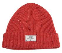Speckle - Mütze für Herren - Rot