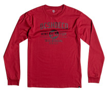 Recover L/S - Langarmshirt für Herren - Rot