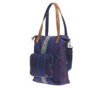 Come - Handtasche für Damen - Blau