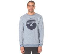 Vintage Print - Sweatshirt für Herren - Blau
