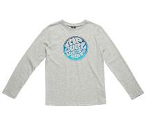 Wetty Stripe - Langarmshirt für Jungs - Grau