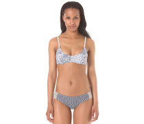 Bandanna - Bikini Set für Damen - Weiß