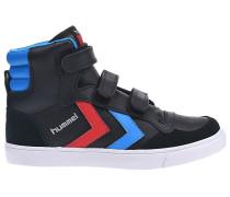 Stadil Junior Lthr HighSneaker Schwarz