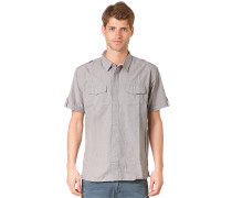 Camino S/S Shirt - Hemd für Herren - Grau