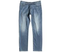 Washed Straight - Jeans für Herren - Blau