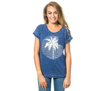 Moon Island - T-Shirt für Damen - Blau