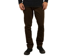 Vorta 5 Pocket Slub - Stoffhose für Herren - Braun