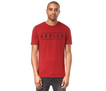 O-Double Stack - T-Shirt - Rot
