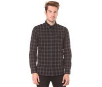 Fulton Flannel L/S - Hemd für Herren - Schwarz