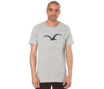 Vintage Möwe - T-Shirt für Herren - Grau