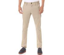 Bronson Slim Premium Micro Stretch TWI - Stoffhose für Herren - Beige