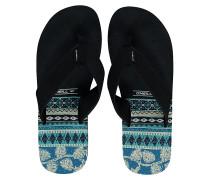 Imprint Pattern - Sandalen für Herren - Blau
