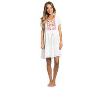 Flores - Kleid für Damen - Weiß