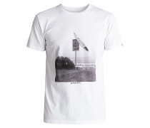 East Smashed - T-Shirt - Weiß