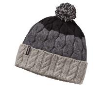 Pom - Mütze für Damen - Grau