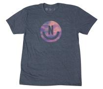 Smiley T-Shirt - Blau