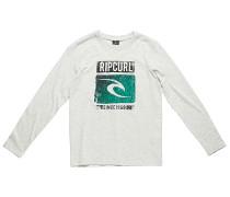 Icon Search - Langarmshirt für Jungs - Weiß