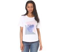 Graphic Print - T-Shirt für Damen - Weiß