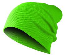 Basic Flap Mütze - Grün