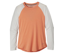 Tropic Comfort Crew - Langarmshirt für Damen - Orange