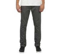 Vorta 5 Pocket Slub - Stoffhose für Herren - Grau
