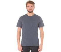 Basic Pocket Crew - T-Shirt - Blau