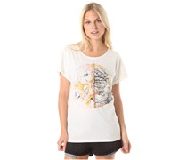Owl Transition - T-Shirt für Damen - Weiß