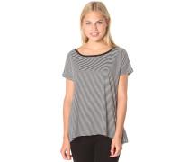 Lived In Stripe - T-Shirt für Damen - Schwarz