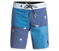 Quadblock Beach 18 - Boardshorts für Herren - Blau
