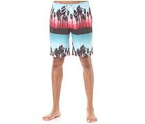 Palm Stripes Hot Tub - Boardshorts für Herren - Mehrfarbig