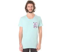 Tee - T-Shirt für Herren - Blau