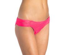 Love n Surf Luxe Hipster - Bikini Hose für Damen - Rot