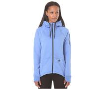 Dri-FIT Zip Fleece - Kapuzenjacke für Damen - Blau