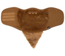 Bearded Facemask Schneebekleidung - Braun