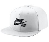 Pro Snapback Cap - Weiß