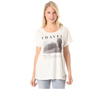 Define Travel - T-Shirt für Damen - Weiß