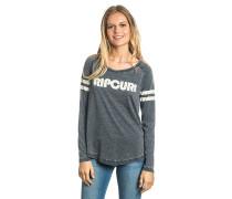 Active Stripe - Langarmshirt für Damen - Schwarz