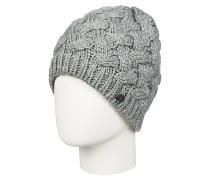 Love & Snow - Mütze für Damen - Grau