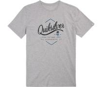 T-Shirt, Regular Fit, Baumwolle, hellgrau meliert