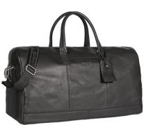 Herren Tasche  Reisetasche Leder schwarz