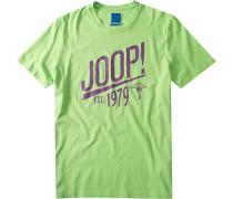 T-Shirt Raphus Regular Fit Baumwolle hellgrün