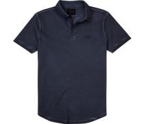 Polo-Shirt Polo Baumwoll-Pique navy