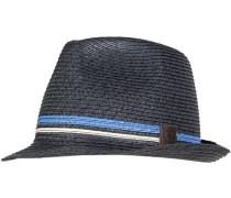 Herren  FRED PERRY Hut Stroh-Mix navy blau