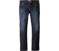Herren Jeans Regular Fit Baumwoll- Stretch indigo blau